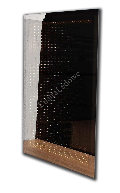 Lustro łazienkowe 3D z oświetleniem